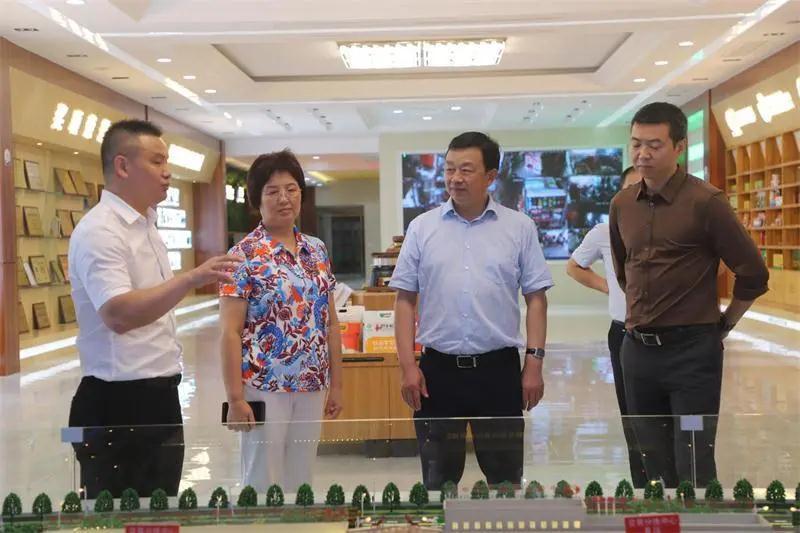 省人大常委会党组书记、常务副主任王玲来潜开展专题调