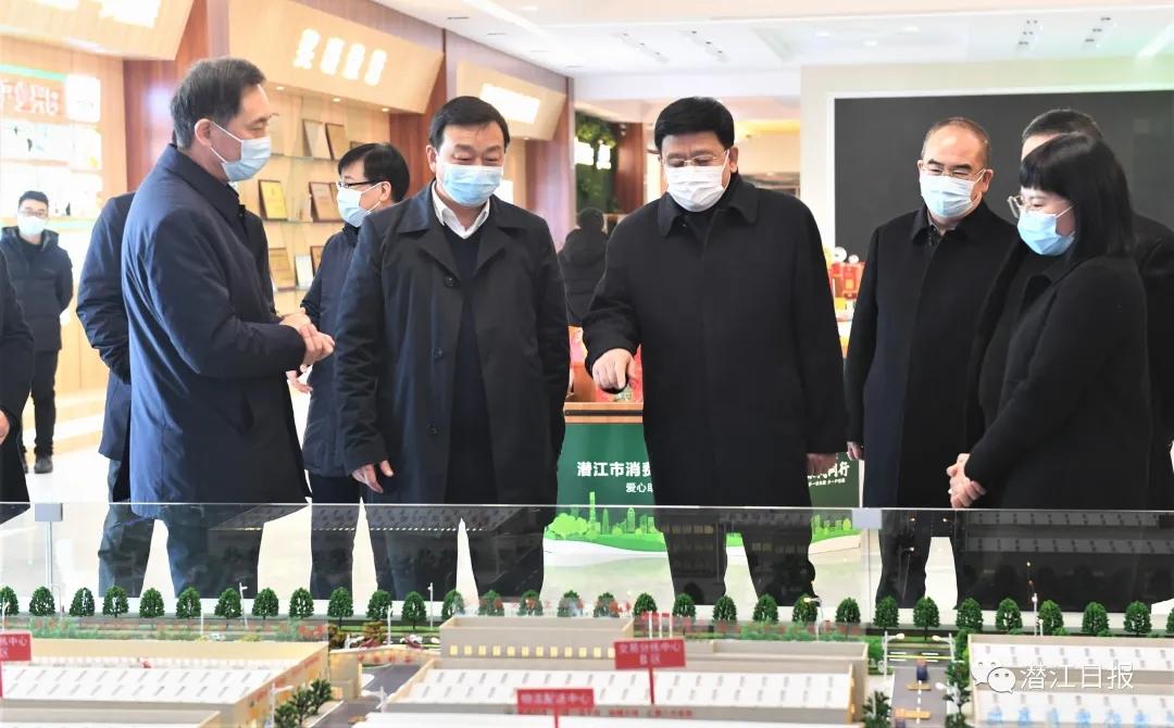 省委常委王贺胜来潜调研疫情防控工作,这样强调……
