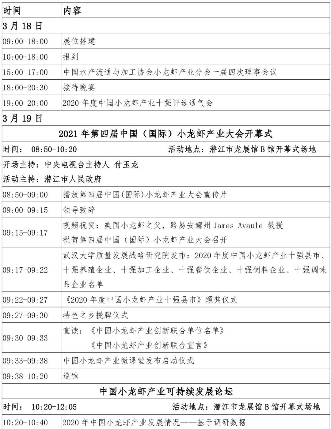 会议|年度小龙虾盛会开启,全产业链吹响集结号!3月速来第四届中国(国际)小龙虾产业大会